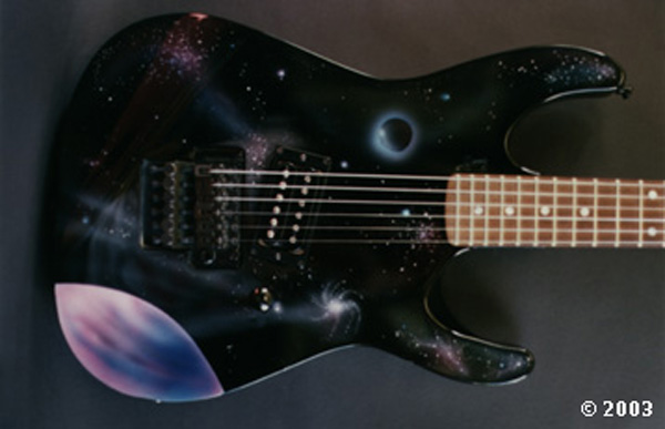 outer space guitar one